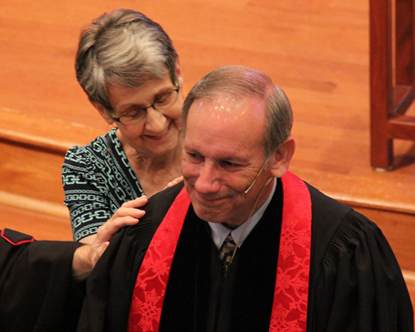 REv. Don Cummings and wife