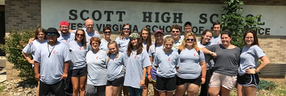 Mission Trip attendees