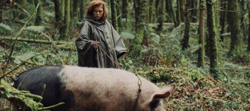 Movie image - Girl with pig