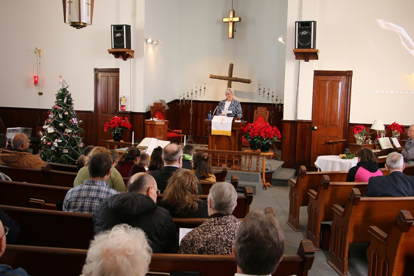 Final Service at Beallsville UMC