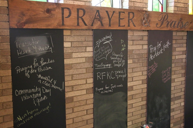 Heart 4 The City Prayer Wall