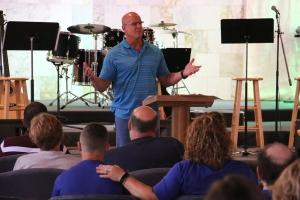 Pastor Brett Bartel Preaching