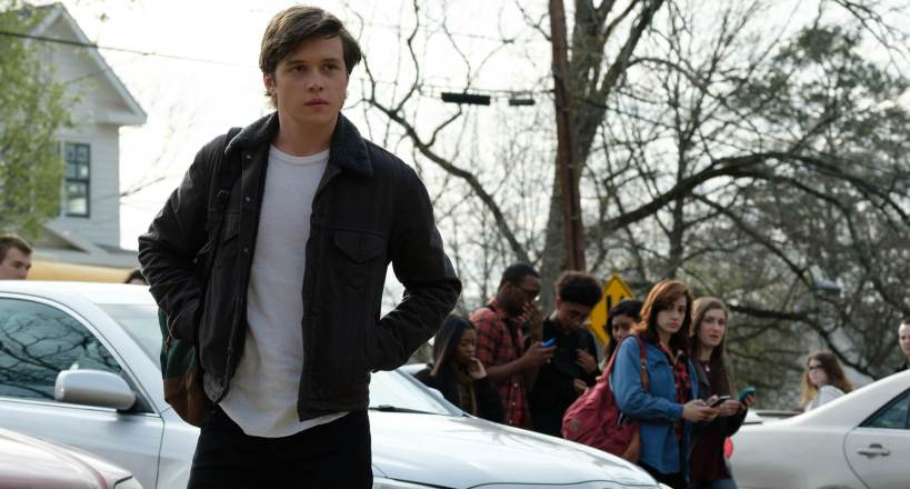 Love, Simon: Teen boy with group of teens in background