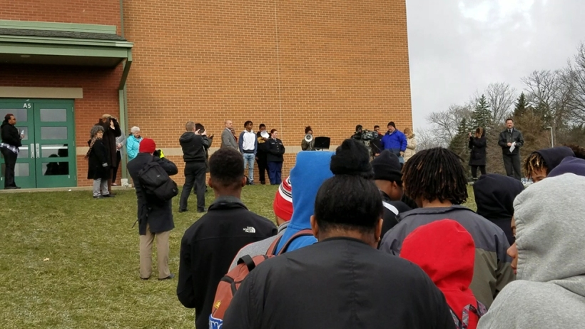 Student Protest at Youngstown Chaney HS