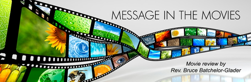 Message in the Movies banner (colorful film strip