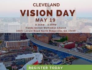 Vision Day Cleveland skyline