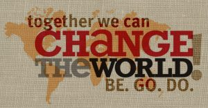 Change the world logo