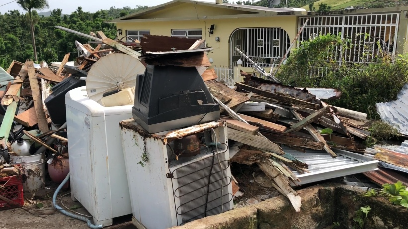 Destruction from Hurricane Maria is still widespread in Puerto Rico