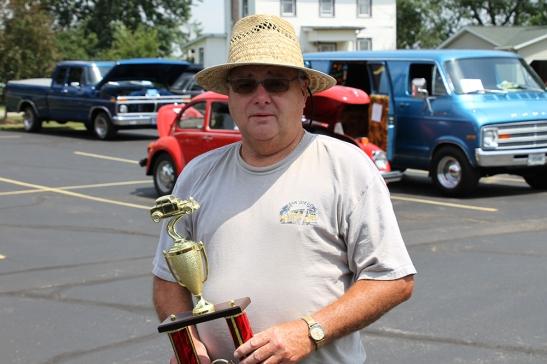 prize winner for car