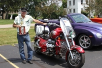 Prize winner for motor cycle