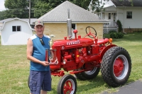 Prize winner for tractor