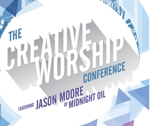 The creative Worship Conference Logo