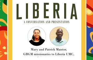 Liberia presentation, Mary and Patrick