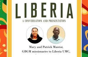 Liberia presentation, Mary and Patrick