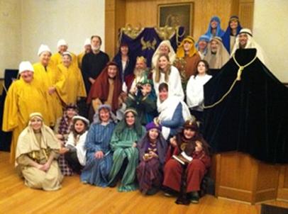 Living Nativity Cast