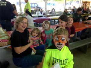 Trick or treat - kids in costume